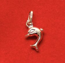 NEW 9ct Yellow Gold Dolphin Charm 375 Friendly Sea Mini 9KT Free Shipping Option