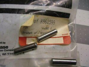 Case IH K962598 (4) Pins K962599 K621839