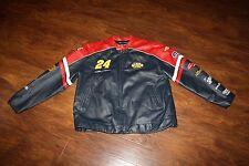 MINT!! WILSONS LEATHER Jacket NASCAR Chase Authentics Jeff Gordon #24 Sz 2XL XXL