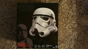 Hasbro Black Series Star Wars Stormtrooper Helmet with Electronic Voice Changer.