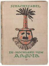 Rare 1923 Angola illustrated ethnographic book