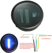 "2"" 52mm Fuel Gauge 10 LED Fuel Level Meter For 12V Motorcycle Car SUV Modified"