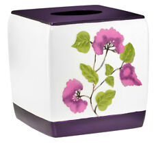 Popular Bath Jasmine Plum Bath Collection - Bathroom Tissue Box Cover