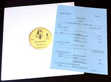 JOE JACKSON Live BBC ROCK HOUR #445 LP (1983) Version B w/ cue sheet NM