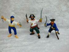 PAPO figurine  PIRATE CORSAIRE- lot de 3 figurines - ref M4