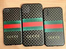 Designer Gucci iPhone Cases 6/7/8/7plus/8plus/X/XS/XR/XSM/11/11Pro/11 Pro Max