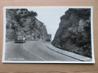 Wyche Pass Malvern Walter Scott Vintage RP Real Photograph Postcard Car