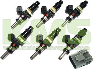 Bosch 1250cc Fuel Injector Package (Long Nose) to Suit Skyline R32 GTR RB26DETT