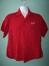 Vintage 1950's King Louie By Holiday Mens Jinxs Bowling Embroidery Shirt Size Ml