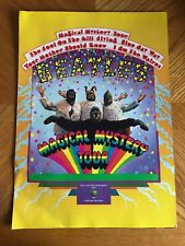 BEATLES VHS Release Giant PROMO Folder Magical Mystery Tour