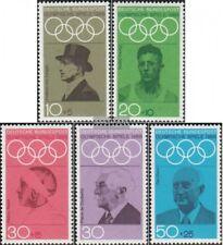 BRD (BR.Deutschland) 561-565 (kompl.Ausg.) FDC 1968 Olympiade
