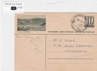 Japan to switzerland 1959 stamps cover Ref 8683