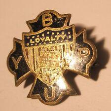 Ybpu Loyal To Christ Vintage Lapel Pin gift christian cross gift