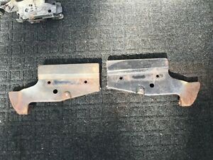 1966 Chevy Impala SS Grille Mounting Brackets Belair Biscayne OEM GM