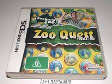 Zoo Quest Puzzle Fun Nintendo DS 3DS Game Preloved