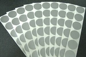 500 ROUND SCRATCH OFF STICKERS LABELS PARTY FAVORS GAMES - FREE SHIPPING