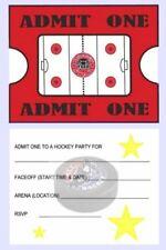 Hockey Party Invites Ebay