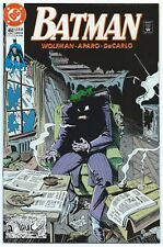 BATMAN #450 July 1990 DC NM/MT 9.8 JOKER Cover BREYFOGLE 1st App CURTIS BASE B/O