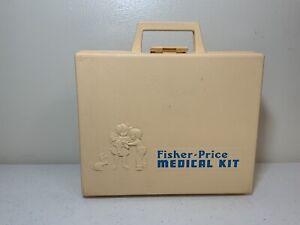 Vintage 1977 FISHER PRICE MEDICAL KIT PLAY SET