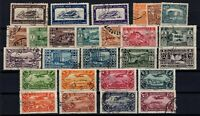 G139173/ FRENCH LEBANON – YEARS 1930 - 1931 USED SEMI MODERN LOT – CV 115 $