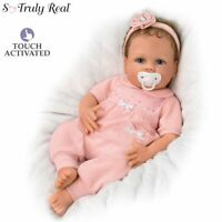 Ashton Drake Cooing Chloe Breathing Silicone Baby Doll by Linda Murray
