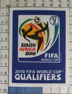 Coupe du Monde 2010 Qualifiers Patch Badge maillot foot France Belgique Brésil