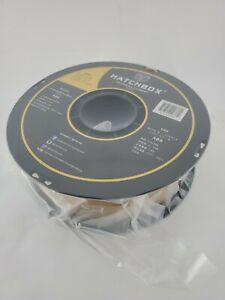 Hatchbox ABS 3.00MM 3D Filament - 1KG Spool - Gold