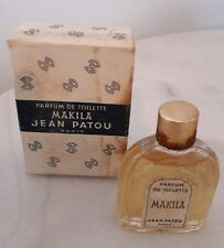 Ancienne miniature de parfum MAKILA de Jean Patou - old miniature perfume