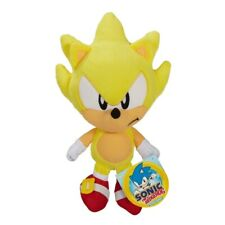 Super Fire Sonic The Hedgehog Basic Plush 19cm Soft Cuddle Toy Stuffed Teddy Kid