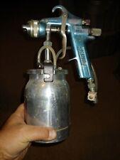 Binks Hvlp Spray Paint Gun With Agit-Cup
