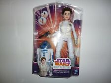 Star Wars Forces du destin Princesse Leia poupée et R2-D2