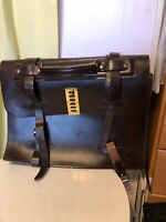 Vintage Military Pilot Issue Briefcase Type Iv Brown Leather Tote Briefcase