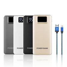 50000mah LCD Power Bank 2 USB LED Externes Zusatzakku Ladegerät Für Mobile Phone