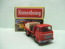 BERLIET GAK rouge Brasseur Kronenbourg 588 DINKY TOYS ATLAS 1/43 NEUF 1