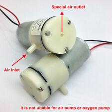Dc 3v 37v Mini 370 Motor Air Pump Micro Vacuum Suction Pump Diaphragm Air Pump