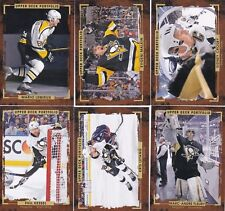 15/16 UPPER DECK PORTFOLIO PITTSBURGH PENGUINS TEAM SET (6-CARDS) CROSBY MALKIN