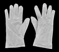 5 Paar weiße Laborhandschuhe - Größe L - aus Baumwolle - NEU