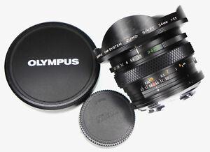 Olympus OM 24mm f3.5 Shift modified to Nikon SLR mount  #101670