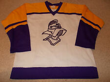 VTG-Crusaders Knights Game Worn/Used High School Minnesota Hockey Jersey