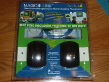 Magic Link TV-TLA Wireless Transmit Audio Video to Any Room Sender Receiver ML3