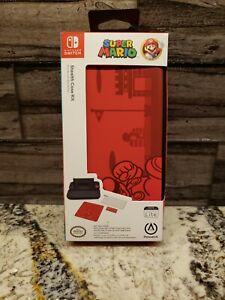 PowerA Super Mario Bros. Stealth Case Kit For Nintendo Switch Lite NEW