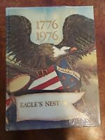 Chapin High School 1976 Eagle's Nest Yearbook, Annual SC Hardcover Bicentennial