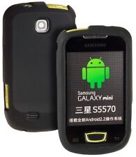 Silikon Case Tasche schwarz f Samsung Galaxy mini s5570
