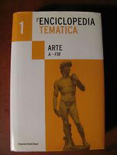 L'ENCICLOPEDIA TEMATICA L'Espresso- ARTE vol 1 ( A / Fir )- 814 pagine