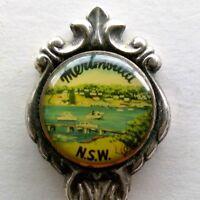 Merimbula NSW Stuart Silverplated Souvenir Spoon Teaspoon (T119)