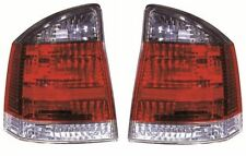 Vauxhall Vectra C 2005-2009 Smoked Rear Tail Light Lamp Pair Left & Right