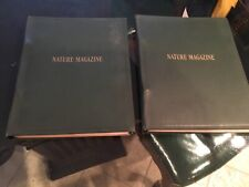 1923 Nature Magazine ~Whole Year Bound in 2 Binders