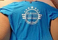 DYMATIZE ELITE CHALLENGE T-SHIRT MENS SIZE XXL 2015 LAS VEGAS BLUE *NWOT*
