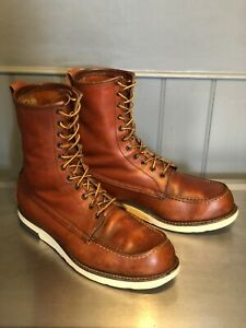 Rare! Vintage Red Wing Irish Setter 1090 Tall Moc Toe Boots UK 11 E / US 12 E