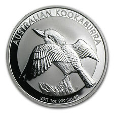 2011 1 oz Silver Australian Kookaburra Coin
